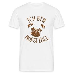 mopsfidel - Männer T-Shirt