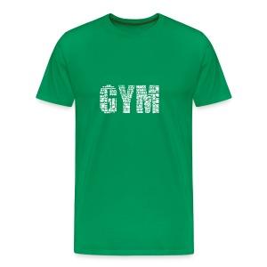 Gym Logo  - Men's Premium T-Shirt
