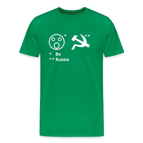 Boah-Russia MG Edition - Männer Premium T-Shirt