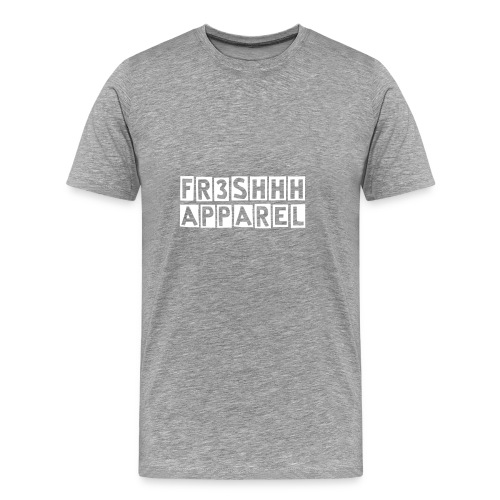 Basic Fr3shhh Apparel Tee  - Men's Premium T-Shirt