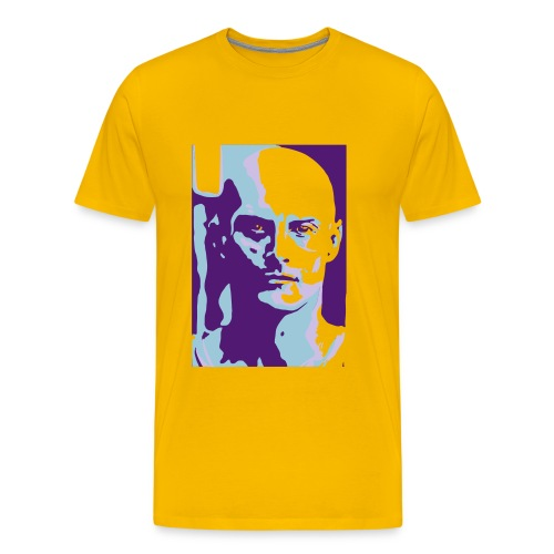 Ken Yellow Blue Purple Basic - Men's Premium T-Shirt