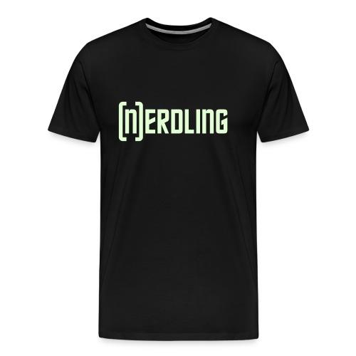 (N)ERDLING Glow - Männer Premium T-Shirt