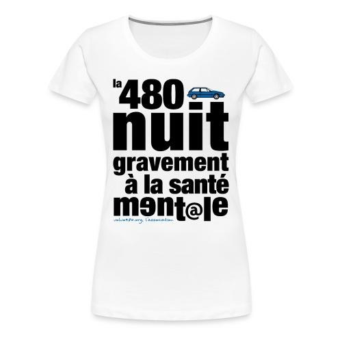 T-shirt femme grande taille - Santé mentale - T-shirt Premium Femme