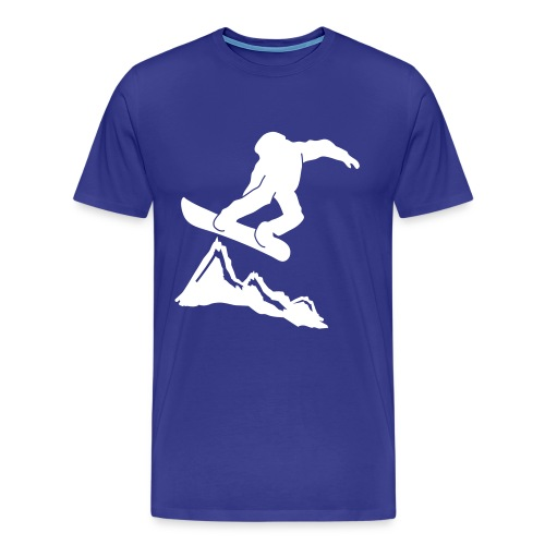 Snowboard - Männer Premium T-Shirt