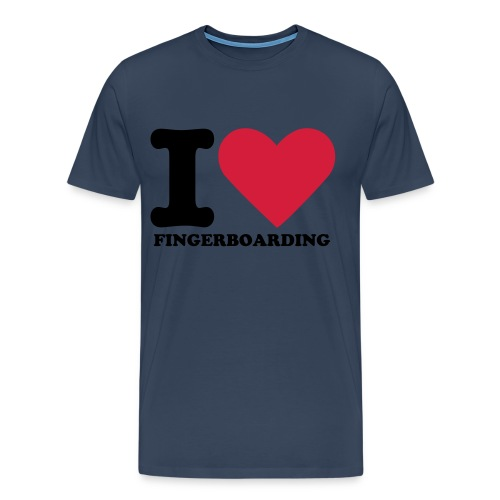 Lifetime Crew I Love Fingerboarding Shirt - Men's Premium T-Shirt