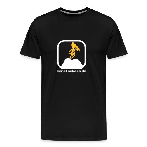 Dirt weiß orange - Männer Premium T-Shirt