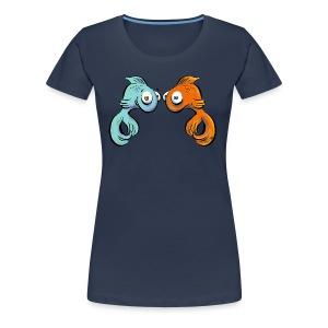 Schau mir in die Augen, Kleiner! - Frauen Premium T-Shirt
