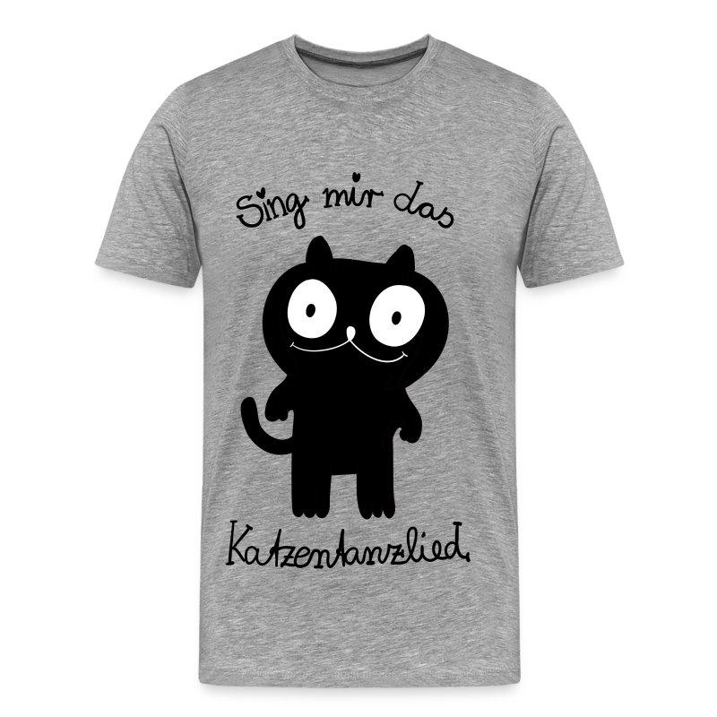 Katzentanzlied - Männer Premium T-Shirt