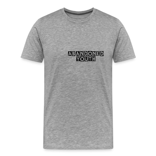 Abandoned Youth Plain Tee - Men's Premium T-Shirt