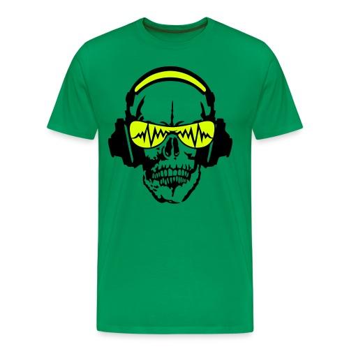 Skull green - T-shirt Premium Homme