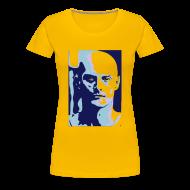 T-Shirts ~ Women's Premium T-Shirt ~ Ken Blue Yellow