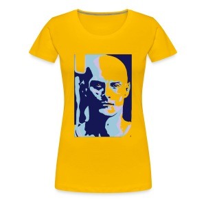 Ken Blue Yellow - Women's Premium T-Shirt