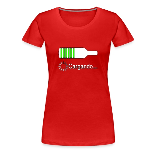 Cargando - Women's Premium T-Shirt