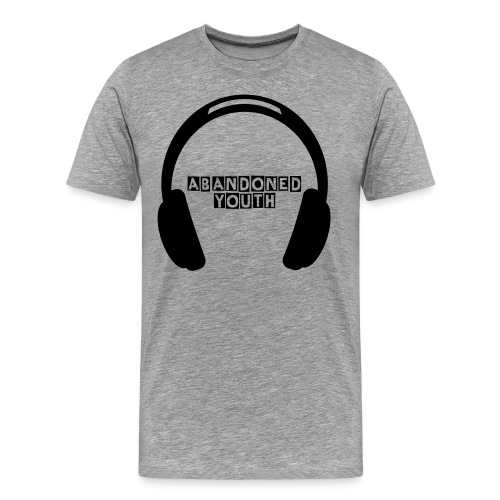 Abandoned Youth Headphone Tee - Men's Premium T-Shirt