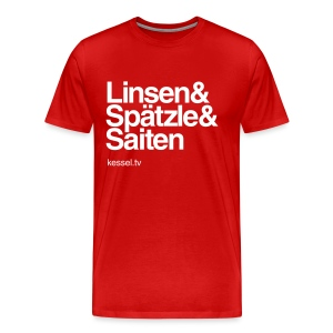Linsa Boys Non-Slim Red - Männer Premium T-Shirt