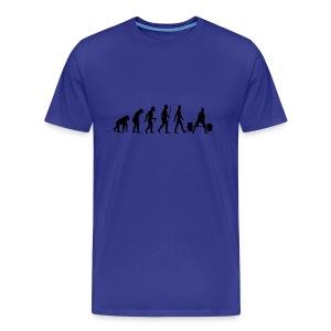 Bodybuilder Evolution - Men's Premium T-Shirt