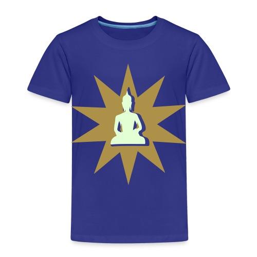 Buddha tshirt gold phospho - T-shirt Premium Enfant