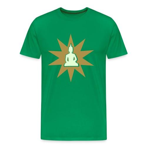 Buddha tshirt gold phospho - T-shirt Premium Homme
