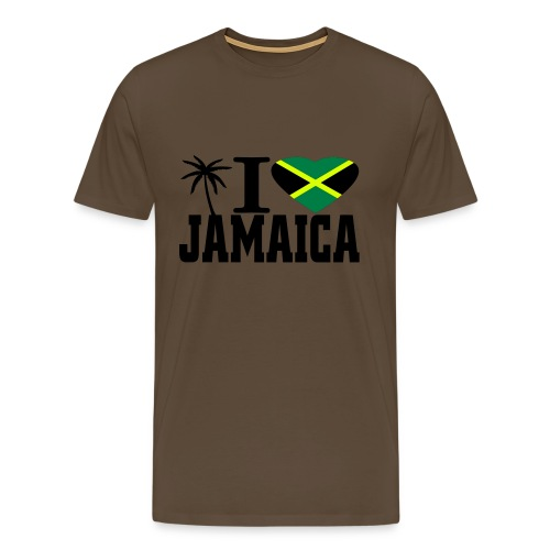 I love Jamaica - Männer Premium T-Shirt