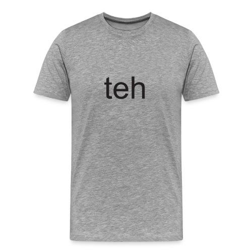 teh l33t - Men's Premium T-Shirt