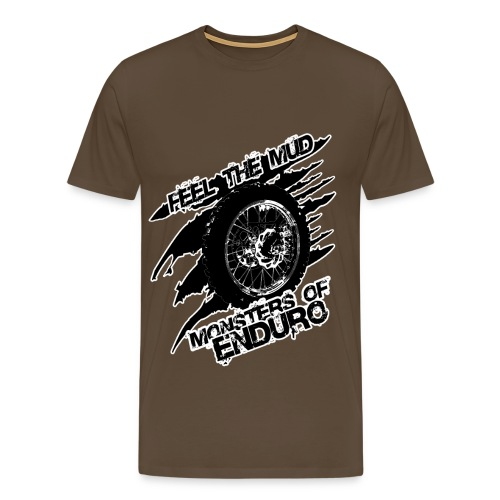 Feel the Mud - Monsters of Enduro - Männer Premium T-Shirt