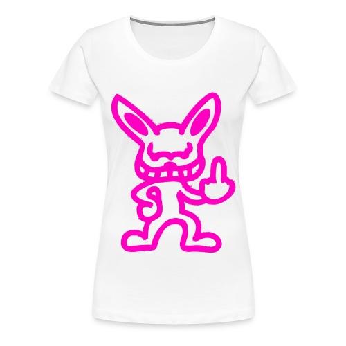 Girlie Shirt MC-Kröte und Dj-Rohn weiß - Frauen Premium T-Shirt