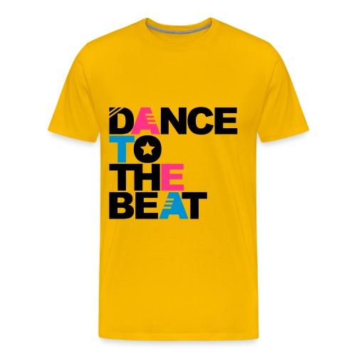 Dance yellow - T-shirt Premium Homme