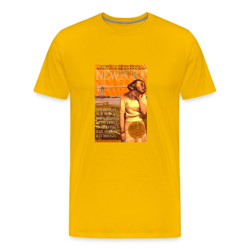 Taff Tourism: Newport (swear free) - Men's Premium T-Shirt