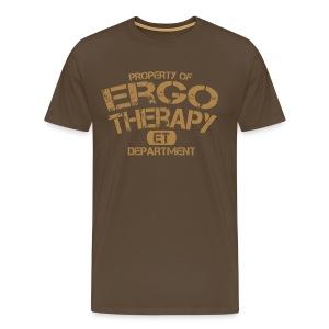 Ergotherapie Sport Shirt - Männer Premium T-Shirt