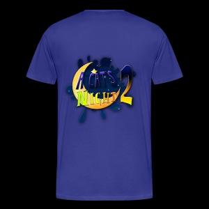 A Cat's Night 2 front/back - Maglietta Premium da uomo