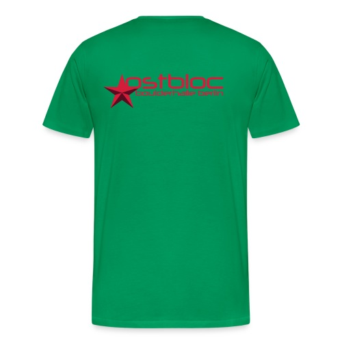 ostbloc boulderhalle - Männer Premium T-Shirt