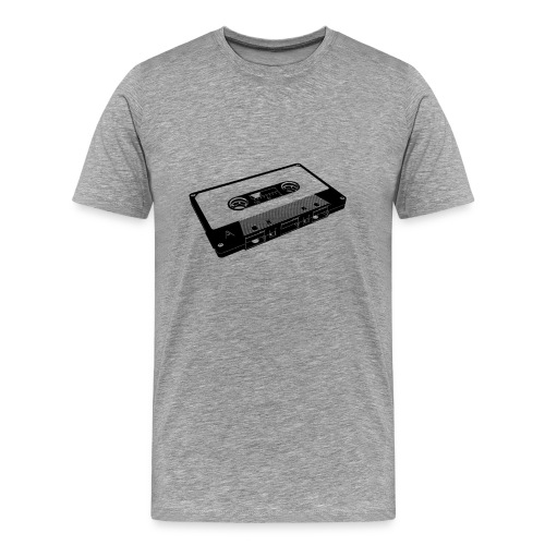 tape black2 - Men's Premium T-Shirt