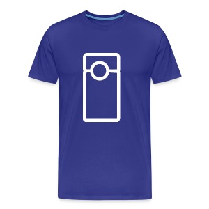 Vlogger - Transparent (Men's) - Men's Premium T-Shirt