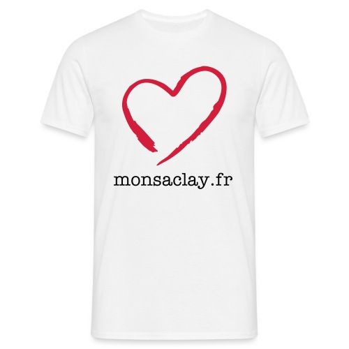 H Heart Monsaclay US - T-shirt Homme