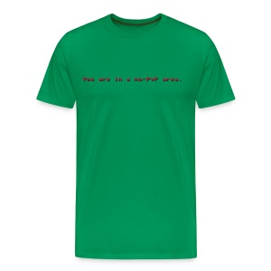 You are in a non-PvP area. - Männer Premium T-Shirt