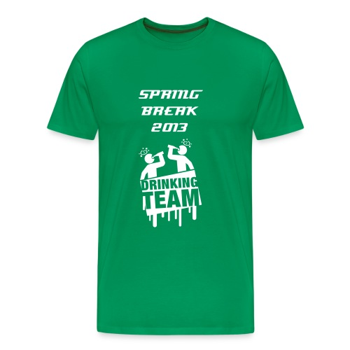 Spring Break 2013 Drinking Team :MEN - Männer Premium T-Shirt