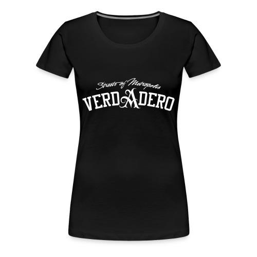verdadero classic girlie /white/ shirt - Frauen Premium T-Shirt