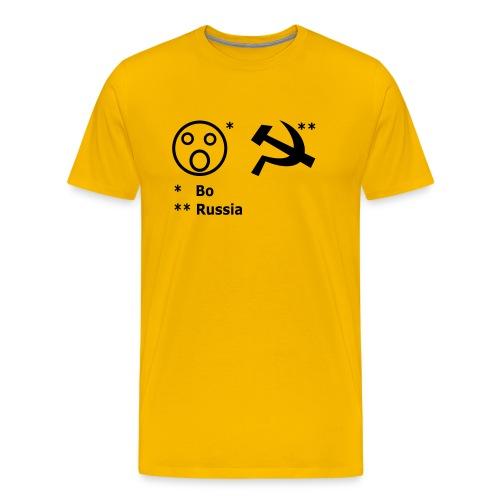 Boah-Russia Dortmund Edition - Männer Premium T-Shirt