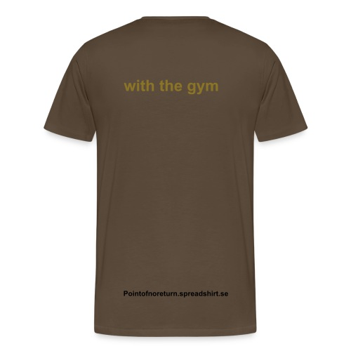 I'm in love.. with the gym t-shirt - Premium-T-shirt herr