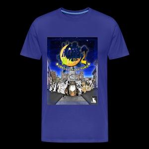 A Cat's Night 2 COVER - Maglietta Premium da uomo