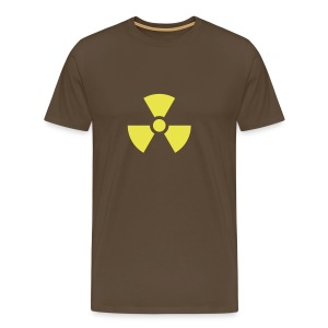 Tehokas ja yksinkertainen ydinvoima T-paita! - Miesten premium t-paita