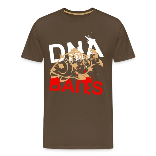 Unofficial DNA Baits Grunge T-Shirt - Men's Premium T-Shirt