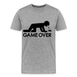 Game Over - Men's Premium T-Shirt