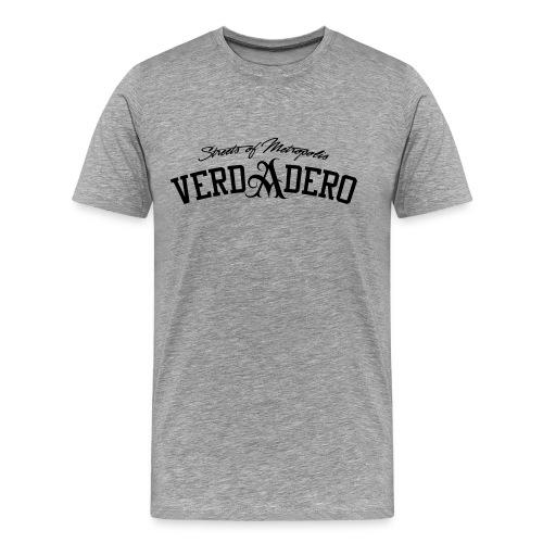 verdadero classic shirt / black/ - Männer Premium T-Shirt