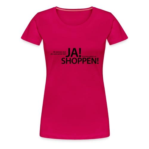 Nackt auf die Welt - Frauen Premium T-Shirt