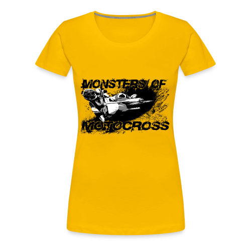 Monsters of Motocross No.12 - Frauen Premium T-Shirt