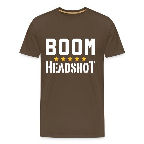 Boom Headshot! - Männer Premium T-Shirt