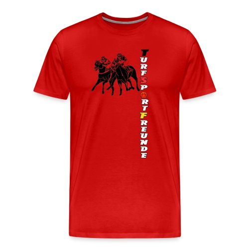 Galoppshirt TURFSPORTFREUNDE - Männer Premium T-Shirt