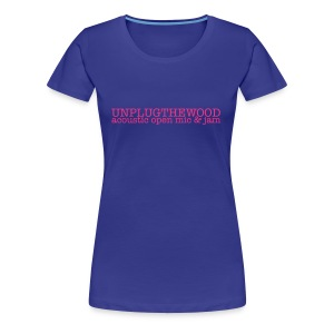 Unplug The Wood Letterbox Girlie shirt - Ladies - Women's Premium T-Shirt