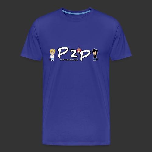 P2P logo Saison 3 - T-shirt Premium Homme